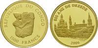 1500 Francs Goldmünze 2006, Kongo, Republique du Congo, 1/25 Unze, 800 ... 60,00 EUR kostenloser Versand