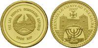 1000 Kip Gold 2007, Laos, 1/25 Unze, Rennes le Chateau Treasure, st  59,00 EUR kostenloser Versand