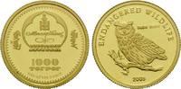 1000 Tögrög Gold 2005, Mongolei, 1/25 Unze, WWF - Bedrohte Tierwelt, Eu... 76,00 EUR kostenloser Versand