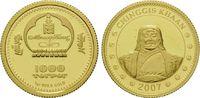 1000 Tögrög Gold 2007, Mongolei, Chinggis Khaan, PP  69,00 EUR kostenloser Versand