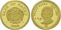 5 Dollars Gold 2008, Nauru, Franz Kafka 1883-1924, PP  32,00 EUR kostenloser Versand