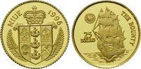 25 Dollars Gold 1996, Niue, 1/25 Unze, Segelschiff 'The Bounty', PP ... 62,00 EUR kostenloser Versand