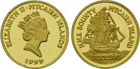 10 Dollars Gold 1999, Pitcairn, 1/25 Unze, Geschichte der Seefahrt - H.... 69,00 EUR kostenloser Versand