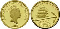 10 Dollars Gold 2007, Pitcairn, 1/25 Unze, Geschichte der Seefahrt - Bo... 69,00 EUR kostenloser Versand
