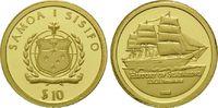 10 Tala Gold 2008, Samoa, Geschichte der Seefahrt - S.M.S. Bismarck, PP  62,00 EUR kostenloser Versand