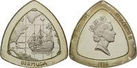 3 Dollars 1998, Bermuda, Bermudadreieck, l.angel.PP, Orig.-Etui und -Ze... 65,00 EUR kostenloser Versand