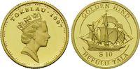 10 Dollars Gold 1997, Tokelau, 1/25 Unze, Geschichte der Seefahrt - Gol... 64,00 EUR kostenloser Versand