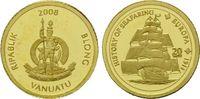 20 Vatu Gold 2008, Vanuatu, Geschichte der Seefahrt, Segelschiff 'Europ... 32,00 EUR kostenloser Versand