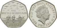 50 Pence 2015, Großbritannien, The Battle of Britain, 75. Jahrestag der... 75,00 EUR kostenloser Versand