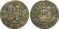 Schilling 1687, Hamburg, Stadt, ss  29,00 EUR kostenloser Versand