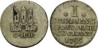Schilling 1795, Hamburg, Stadt, Schrötlingsfehler, ss/vz  35,00 EUR kostenloser Versand