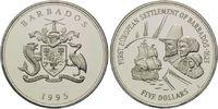 5 Dollars 1995, Barbados, Geschichte der Seefahrt, Erste Europäische Si... 26,00 EUR kostenloser Versand