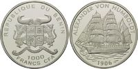 1000 Francs CFA o.J.(2006) Benin, Geschichte der Seefahrt, Segelschiff ... 29,00 EUR kostenloser Versand