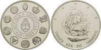 25 Pesos 2002, Argentinien, Geschichte der Seefahrt, Segelschiff - Frag... 29,00 EUR kostenloser Versand