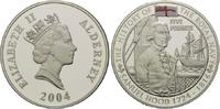 5 Pfund 2004, Alderney, Geschichte der Royal Navy, Samuel Hood, mit far... 49,00 EUR kostenloser Versand