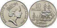10 Dollars 1988, Australien, Entdeckung Australiens, Segelschiffe, Land... 21,00 EUR kostenloser Versand