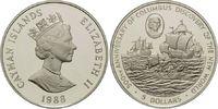 5 Dollars 1988, Cayman Inseln, 500 Jahre Entdeckung Amerikas, Kolumbus ... 29,00 EUR kostenloser Versand