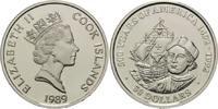 50 Dollars 1989, Cook Inseln, 500 Jahre Entdeckung Amerikas, Kolumbus v... 26,00 EUR kostenloser Versand