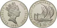 20 Dollars 1995, Cook Inseln, Geschichte der Seefahrt, Tainui Catamaran... 32,00 EUR kostenloser Versand