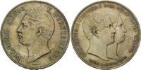 Doppeltaler 1846, Württemberg, Wilhelm I., 1816-1864, fleck.pat., l.prä... 395,00 EUR kostenloser Versand