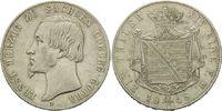 Taler 1848, Sachsen-Coburg-Gotha, Ernst II., 1844-1893, ss+  290,00 EUR kostenloser Versand