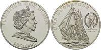 5 Dollars 2009, Cook Inseln, Geschichte der Seefahrt, Segelschiff HMS E... 29,00 EUR kostenloser Versand