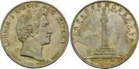 Taler 1828, Bayern, Ludwig I., 1825-1848, winz.Kr., winz.Rdf., fleck.Pa... 655,00 EUR kostenloser Versand