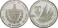 10 Pesos 1997, Kuba, Geschichte der Seefahrt, Vincente Yánez Pinzón, Ca... 29,00 EUR kostenloser Versand
