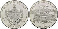 10 Pesos 1997, Kuba, Geschichte der Seefahrt, Mississippi Raddampfer, o... 29,00 EUR kostenloser Versand