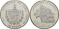 10 Pesos 2000, Kuba, Geschichte der Seefahrt - Segelschiff 'Santissima ... 29,00 EUR kostenloser Versand