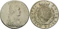 Taler 1791 IEC, Sachsen, Kurfürst Friedrich August III., 1763-1806, sel... 215,00 EUR kostenloser Versand
