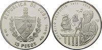 10 Pesos 2002, Kuba, Geschichte der Seefahrt, Americo Vespucio vor Sege... 39,00 EUR kostenloser Versand