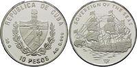 10 Pesos 2003, Kuba, Geschichte der Seefahrt, Segelschiff - 'Sovereign ... 39,00 EUR kostenloser Versand