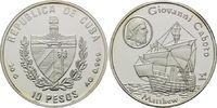 10 Pesos 2004, Kuba, Geschichte der Seefahrt - Giovanni Caboto - Segels... 39,00 EUR kostenloser Versand