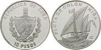 10 Pesos 2005, Kuba, Geschichte der Seefahrt - Flotte von Colón - Segel... 39,00 EUR kostenloser Versand
