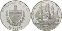 10 Pesos 2007, Kuba, Geschichte der Seefahrt - Seeschlacht von Trafalga... 39,00 EUR kostenloser Versand