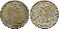 Halfdollar 1871, USA, Seated Liberty, ss  130,00 EUR kostenloser Versand