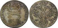 16 Schilling 1752 JJJ, Lübeck, Stadt, ss  35,00 EUR kostenloser Versand
