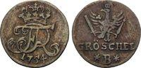 Gröschel 1754 B, Brandenburg-Preussen, Friedrich II. der Große, 1740-17... 15,00 EUR kostenloser Versand