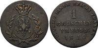 Groschen 1810 A, Preussen, Freie und Hansestadt, ss  40,00 EUR kostenloser Versand