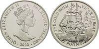 2 Pfund 2000, Falkland Inseln, Gold Rausch - Vicar of Bray, PP  39,00 EUR kostenloser Versand
