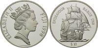 10 Dollars 1998, Fidschi, Fiji, Segelschiff Endevour, Barge 1768, PP  32,00 EUR kostenloser Versand