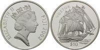 10 Dollars 2002, Fidschi, Fiji, Segelschiff Vostok, PP  34,00 EUR kostenloser Versand