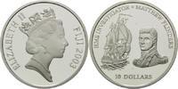 10 Dollars 2003, Fidschi, Fiji, Segelschiff HMS Investigator, Metthew F... 34,00 EUR kostenloser Versand