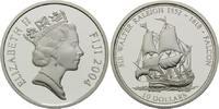 10 Dollars 2004, Fidschi, Fiji, Segelschiff Falcon von Sir Walter Ralei... 34,00 EUR kostenloser Versand