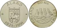 100 Markkaa 1991, Finnland, Segelschiff Viermaster - 70 Jahre Aland Ins... 25,00 EUR kostenloser Versand