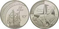 10 Euro 2011, Frankreich, Große Entdecker - Jacques Cartier, Kanada, Se... 34,00 EUR kostenloser Versand