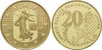 20 Euro 2002, Frankreich, Merci le Franc: Abschied vom Franc, Originalv... 690,00 EUR kostenloser Versand