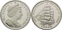 1 Crown 2003, Isle of Man, 140 Jahre Segelschiff 'The Star of India' PP... 29,00 EUR kostenloser Versand