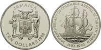 10 Dollars 1992, Jamaika, 500 Jahre Entdeckung Amerikas, Segelschiff Ka... 29,00 EUR kostenloser Versand